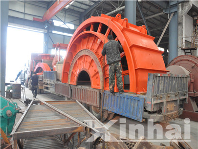 Mining equipment manufactured by us were about to pack and ship.