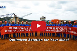 Installation and Commission of Busolwa 12000TPD Gold CIL Plant Project