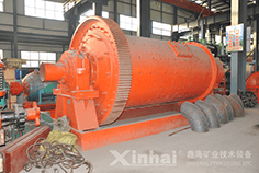 Overflow Type Ball Mill-case
