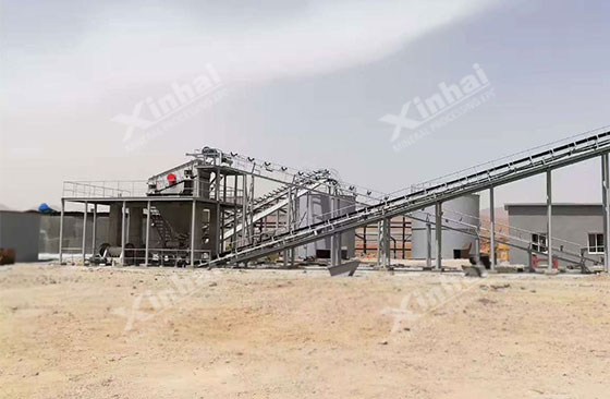 Morocco 500tpd silver processing project