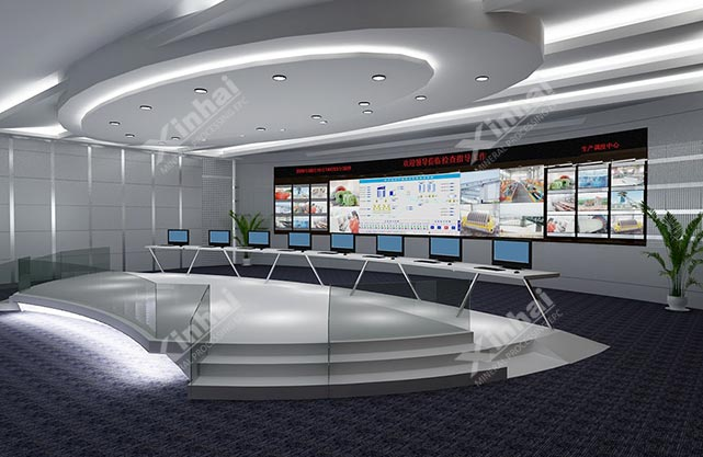 Center control room large screen display system