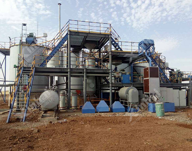 Sudan 300t/d Gold Mineral Processing Plant