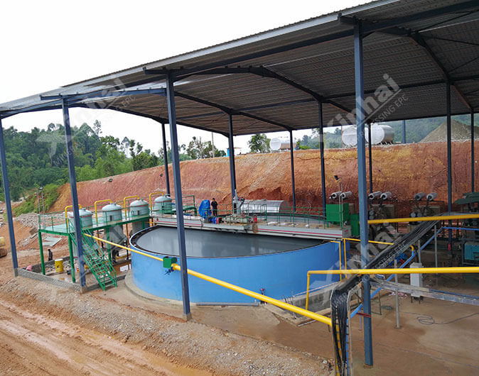 Malaysia 700t/d Gold Mineral Processing Plant